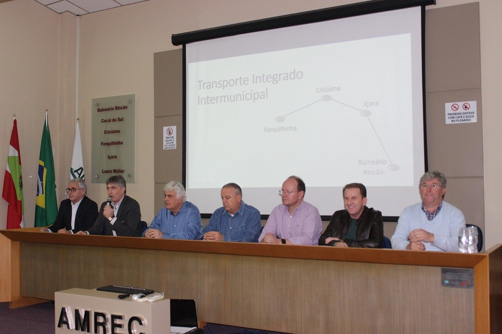 Proposta de transporte integrado intermunicipal é apresentada