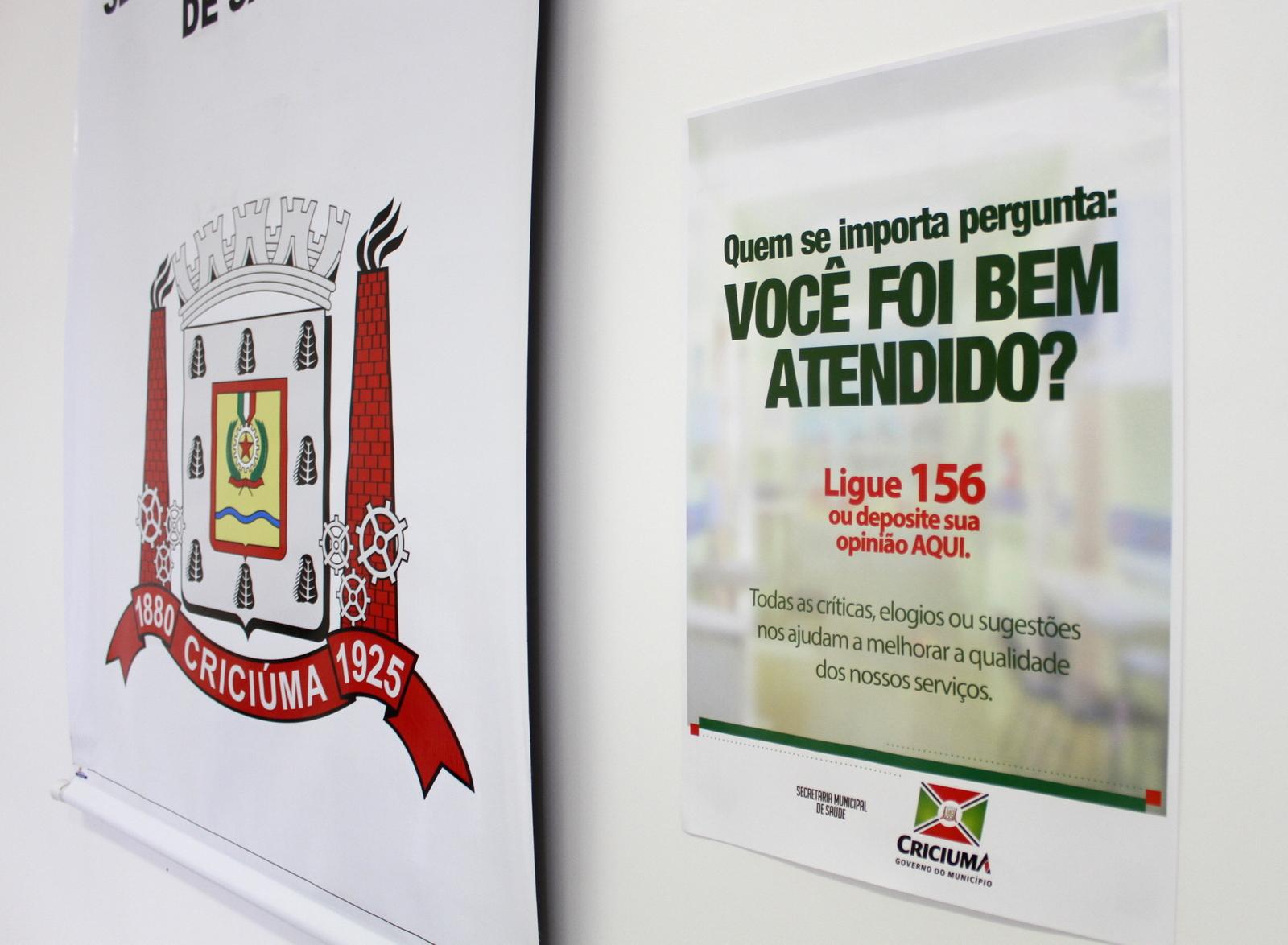 Administração Municipal disponibiliza caixas coletoras de sugestões em Unidades de Saúde de Criciúma