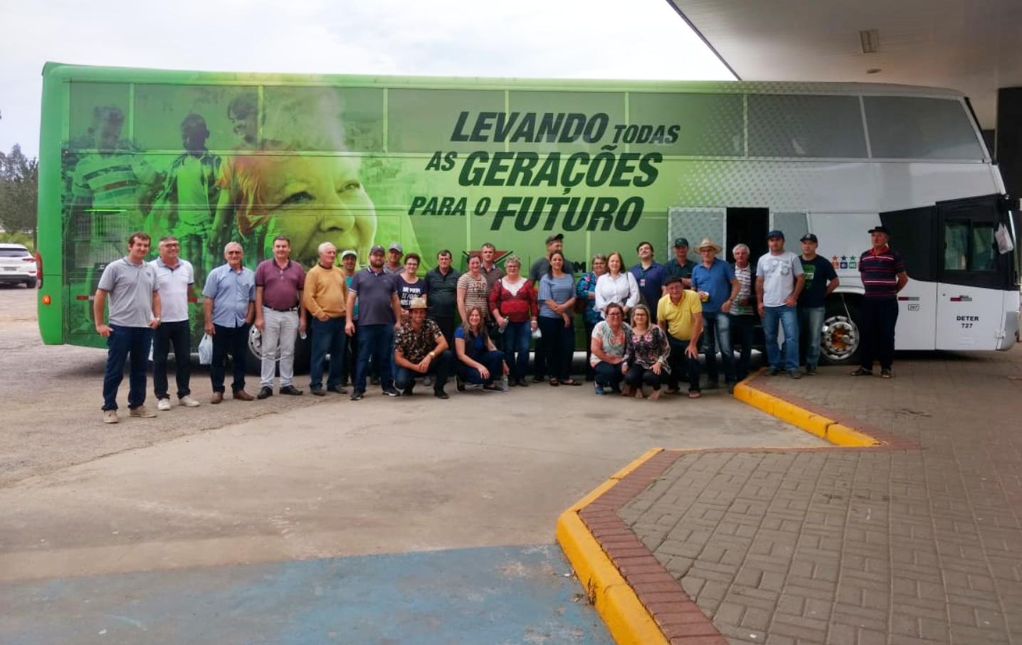 Agricultores de Criciúma participam da 41ª ExpoInter