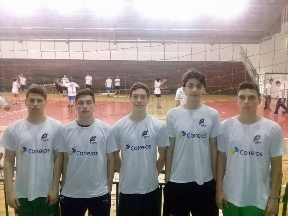 Handebol: atletas de Criciúma são convocados para treinos na Seleção Brasileira