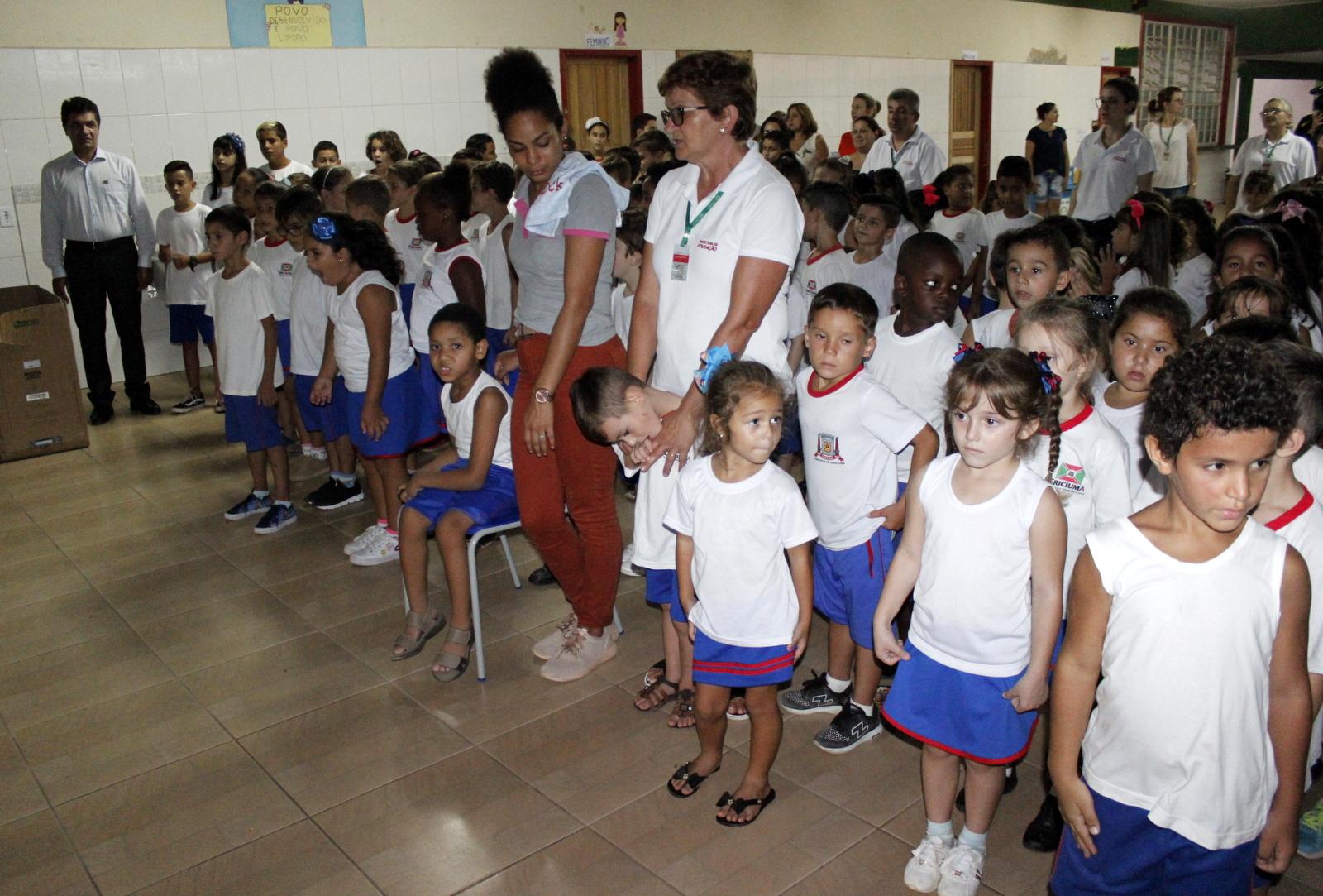 Prefeitura Municipal de Criciúma - Aulas iniciam na rede municipal de ensino de Criciúma