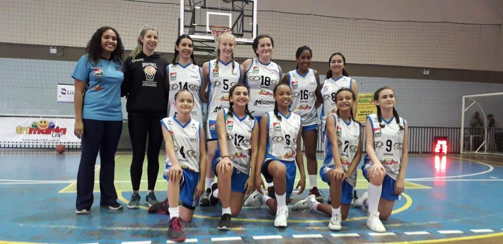 Criciúma conquista bons resultados no basquete feminino