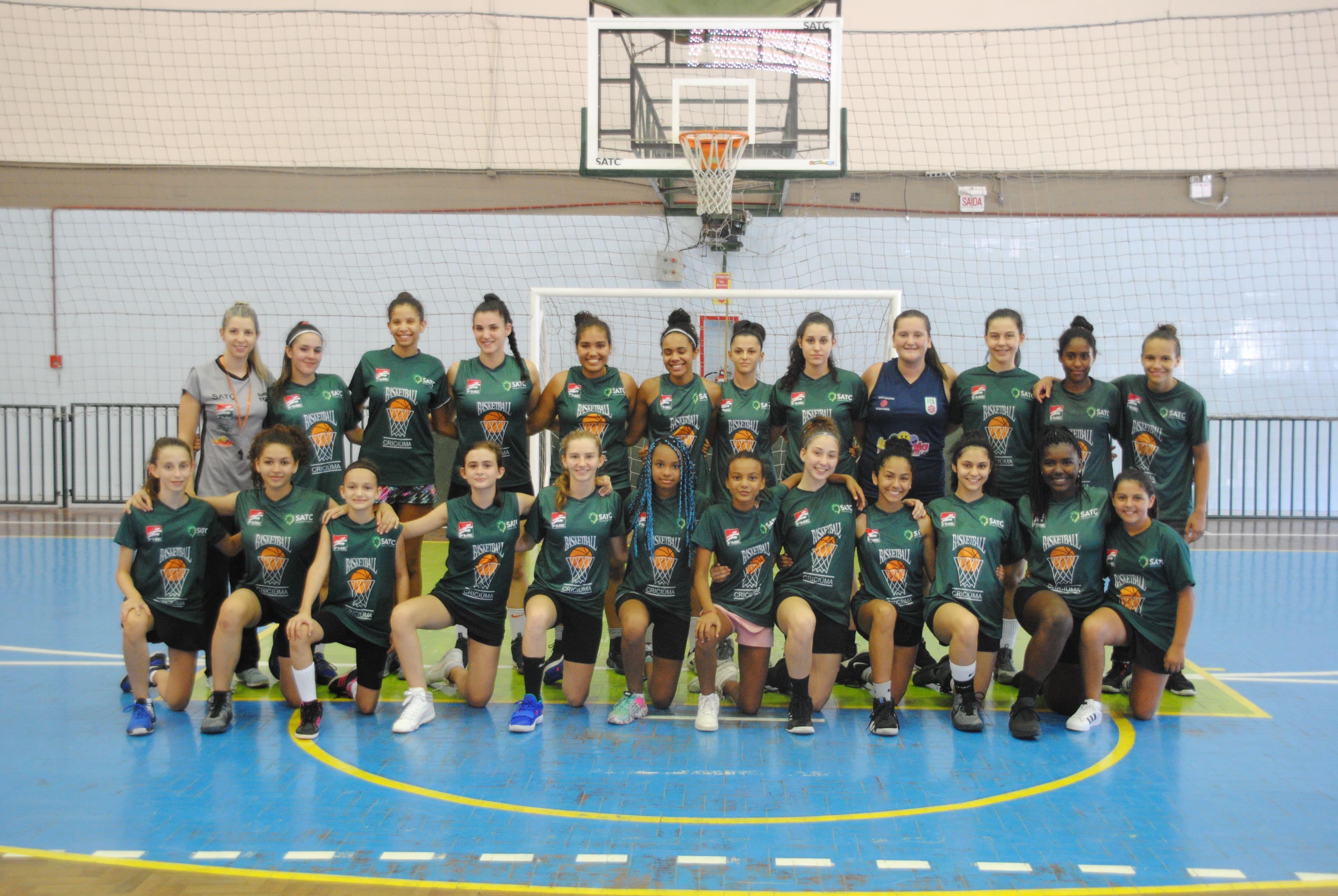 Basquete feminino de Criciúma joga neste fim de semana visando Campeonato Brasileiro