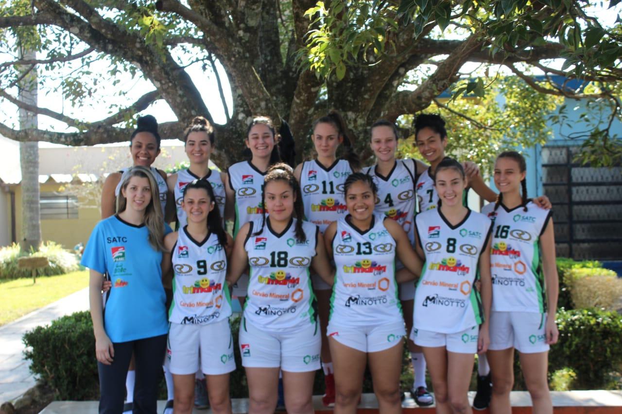 Prefeitura Municipal de Criciúma - Joguinhos Abertos: basquete feminino estreia com vitória