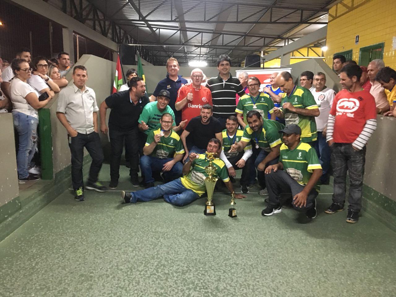 B.B.L. Recipac vence Campeonato Municipal de Bocha de Criciúma
