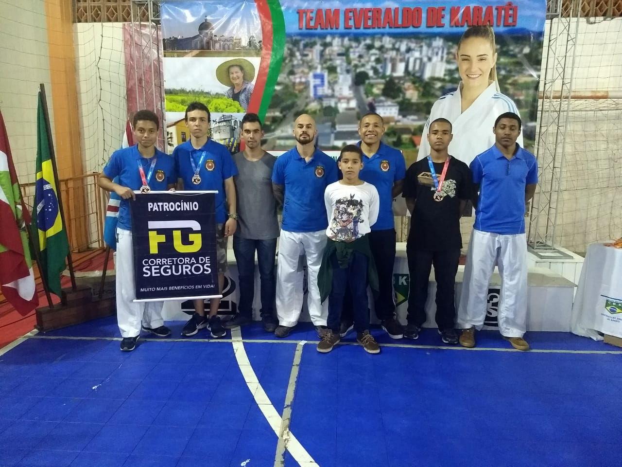 Caratecas criciumenses conquistam medalhas em competição estadual