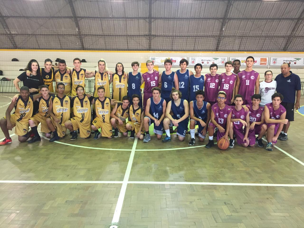Jesc: Cedup é campeão no basquete masculino
