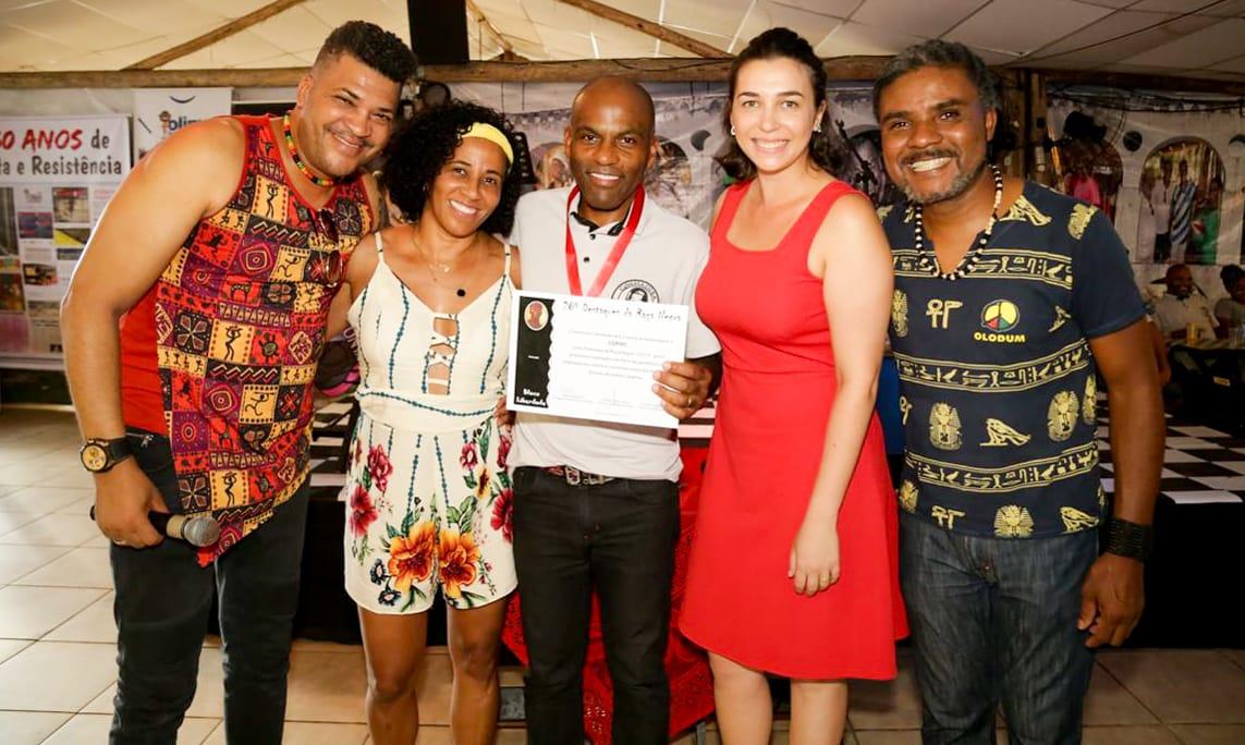 Coordenadoria de Promoção da Igualdade Racial de Criciúma ganha o Troféu Destaque da Raça Negra