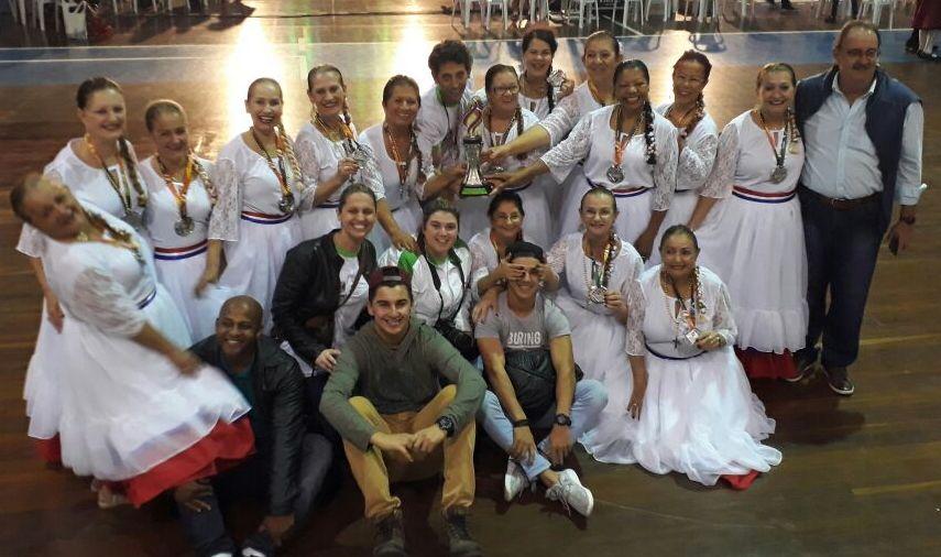 Jasti: Criciúma conquista a medalha de prata na dança folclórica popular