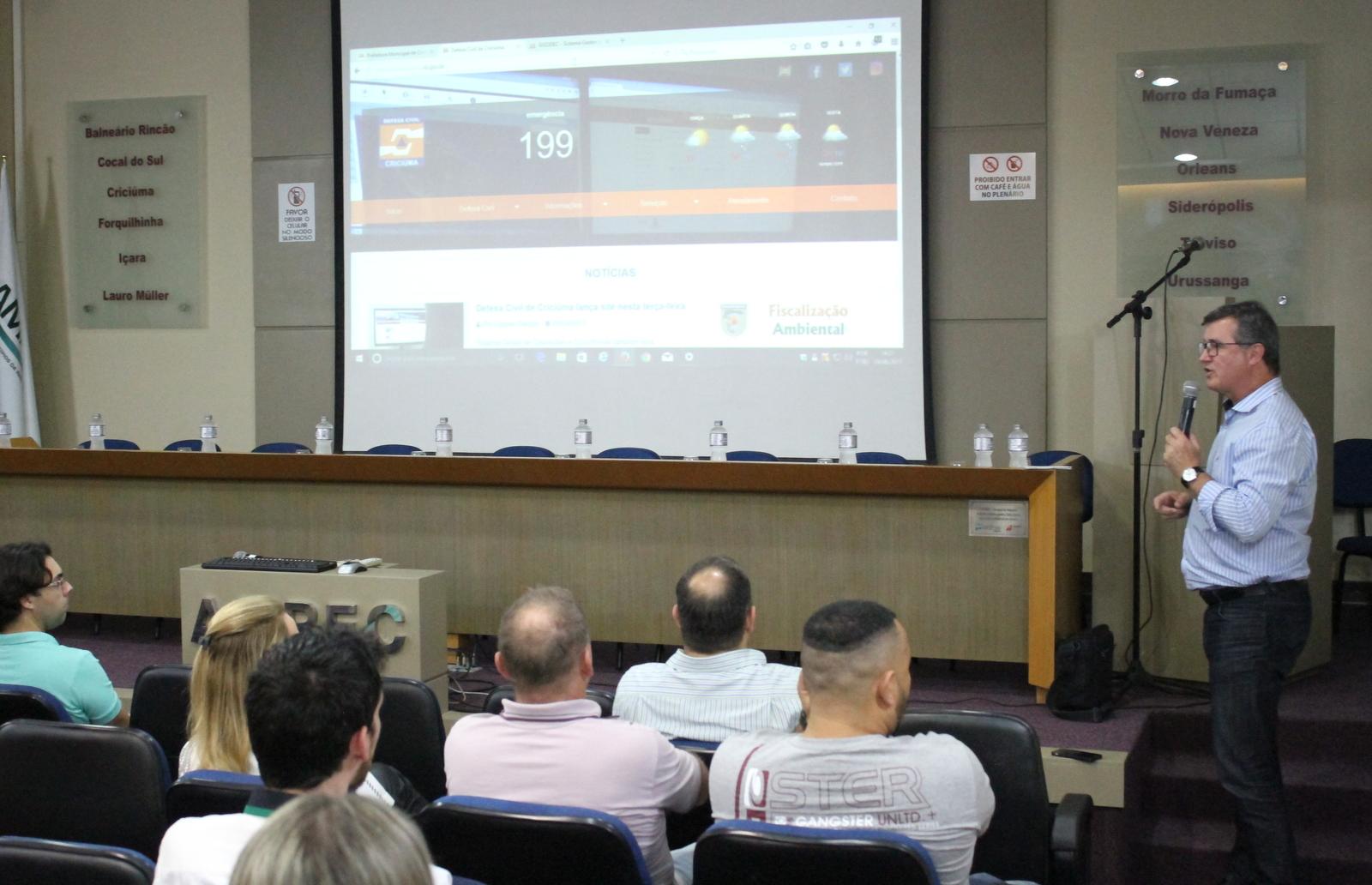 Defesa Civil de Criciúma lança site para melhorar atendimentos aos moradores