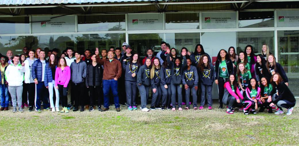 Prefeitura Municipal de Criciúma - Joguinhos Abertos: atletas criciumenses viajam para Curitibanos