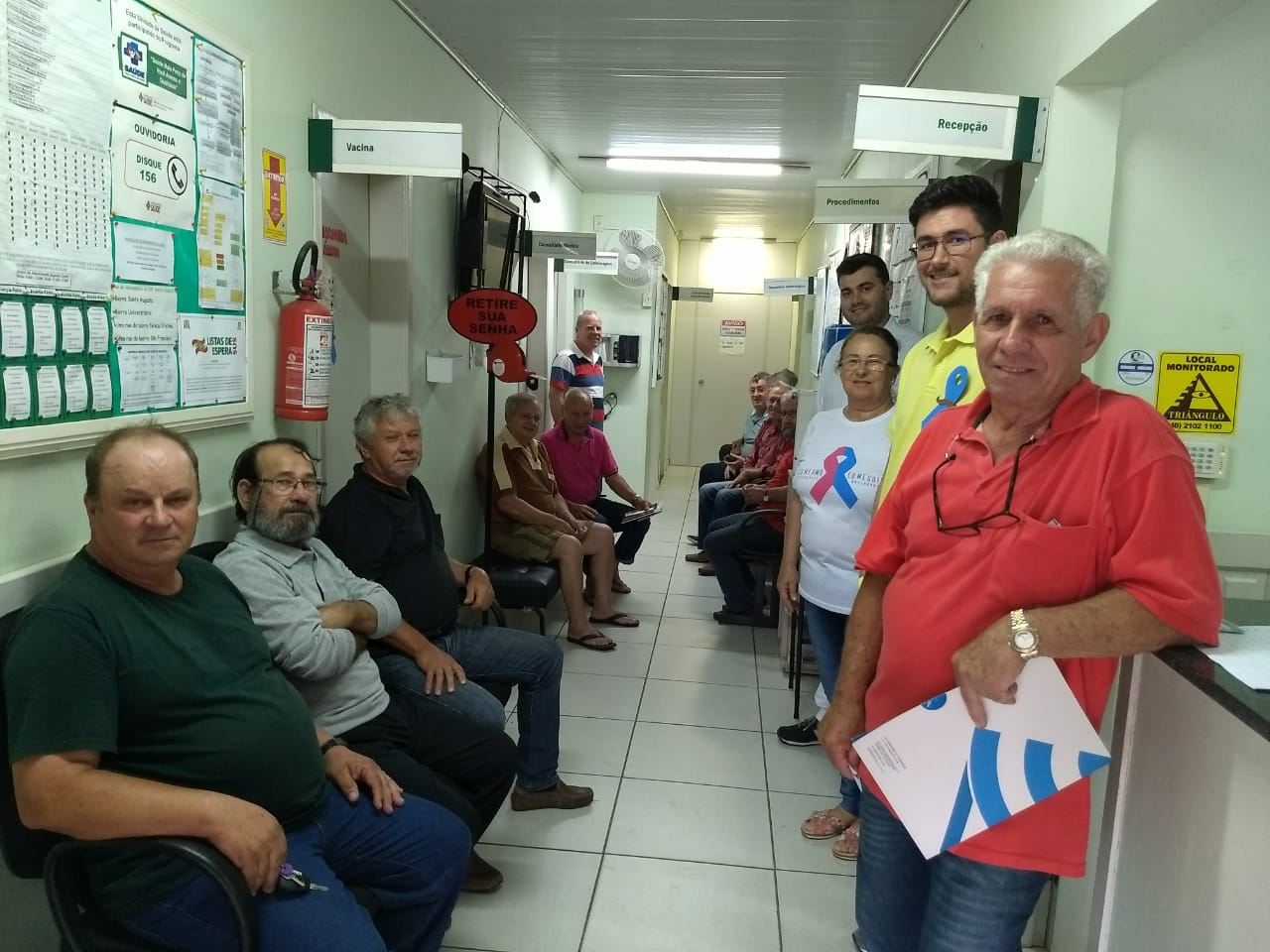 Prefeitura Municipal de Criciúma - Dia 'D' do Novembro Azul atinge bons resultados em Criciúma