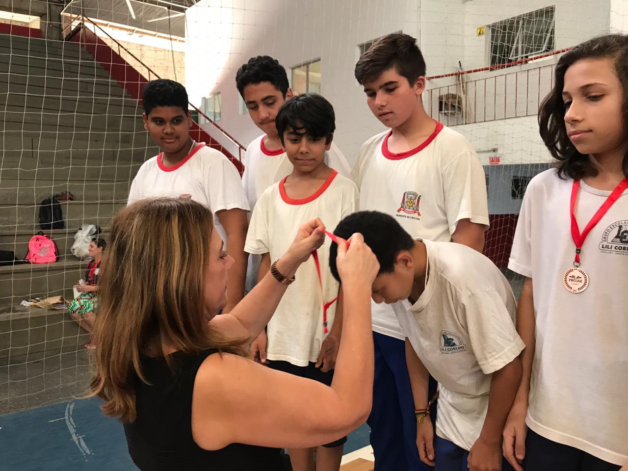 Prefeitura Municipal de Criciúma - Jemec premia vencedores no último dia de competições