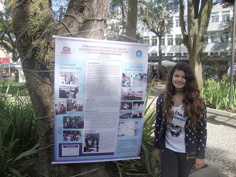 Estudante de Criciúma fará palestra na Conferência Nacional Infantojuvenil pelo Meio Ambiente