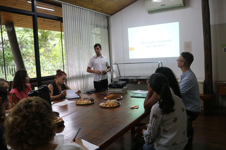 Famcri apresenta projetos ambientais a escolas de Criciúma