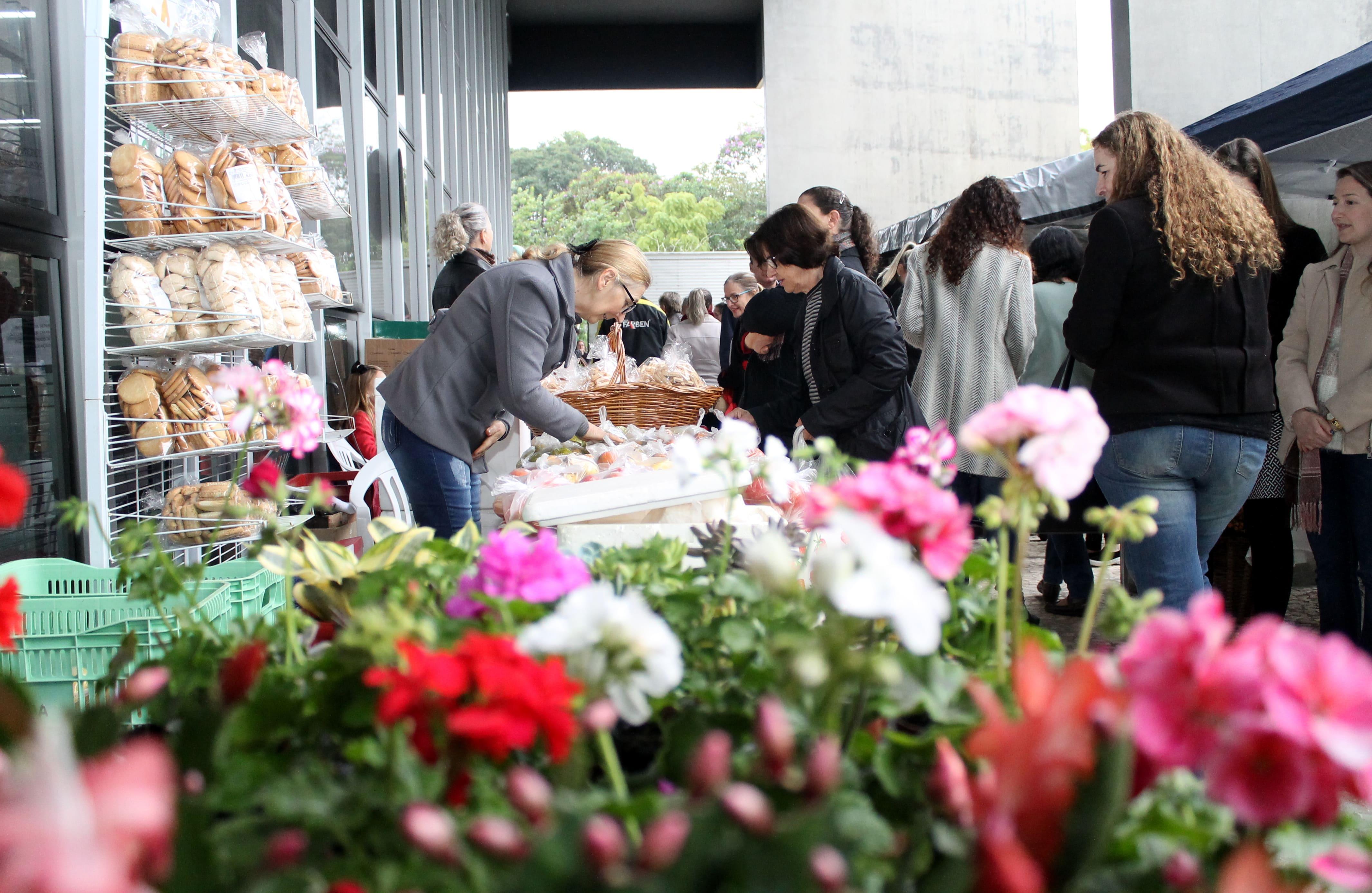 Parceria entre Gerência da Agricultura e Shopping Della traz Feirinha Colonial a Criciúma
