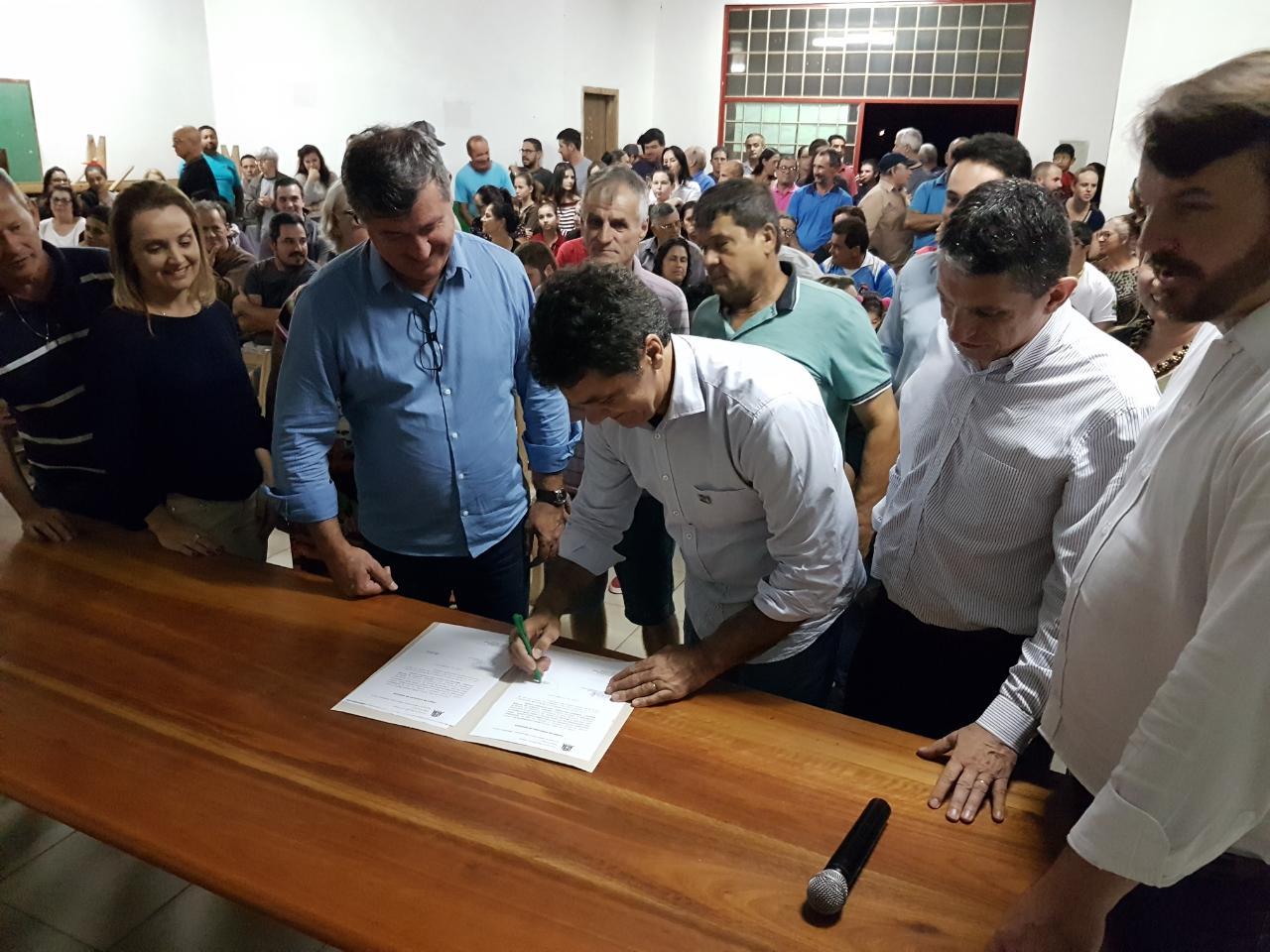 Prefeitura de Criciúma anuncia pavimentação de ruas do bairro Linha Anta