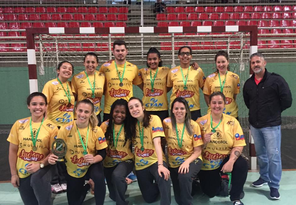 Futsal feminino de Criciúma está classificado para a semifinal do Campeonato Estadual Sub-15