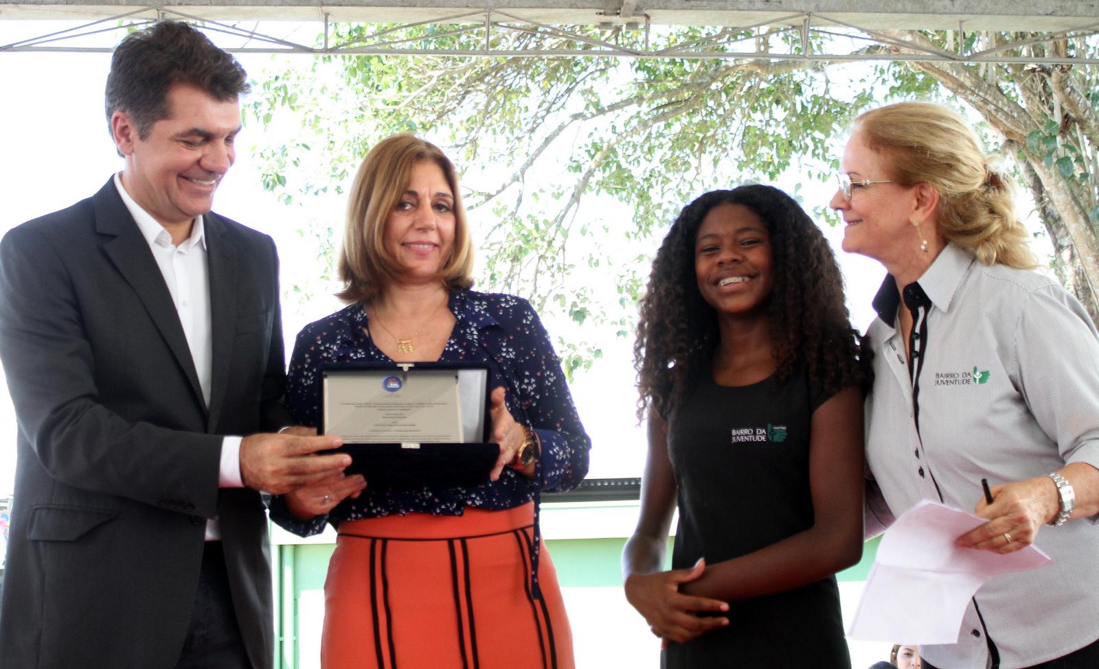 Escola da rede municipal de Criciúma conquista Prêmio Itaú - Unicef