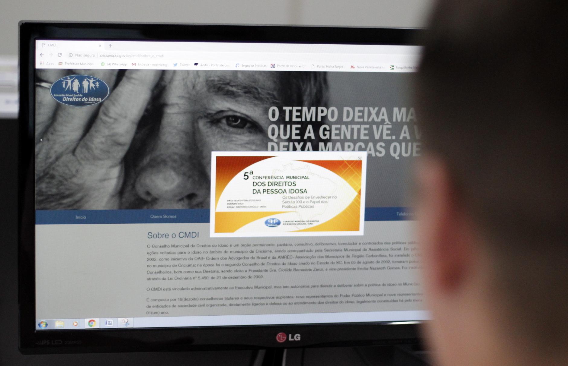 Inscrições abertas para 5ª Conferência Municipal dos Direitos da Pessoa Idosa