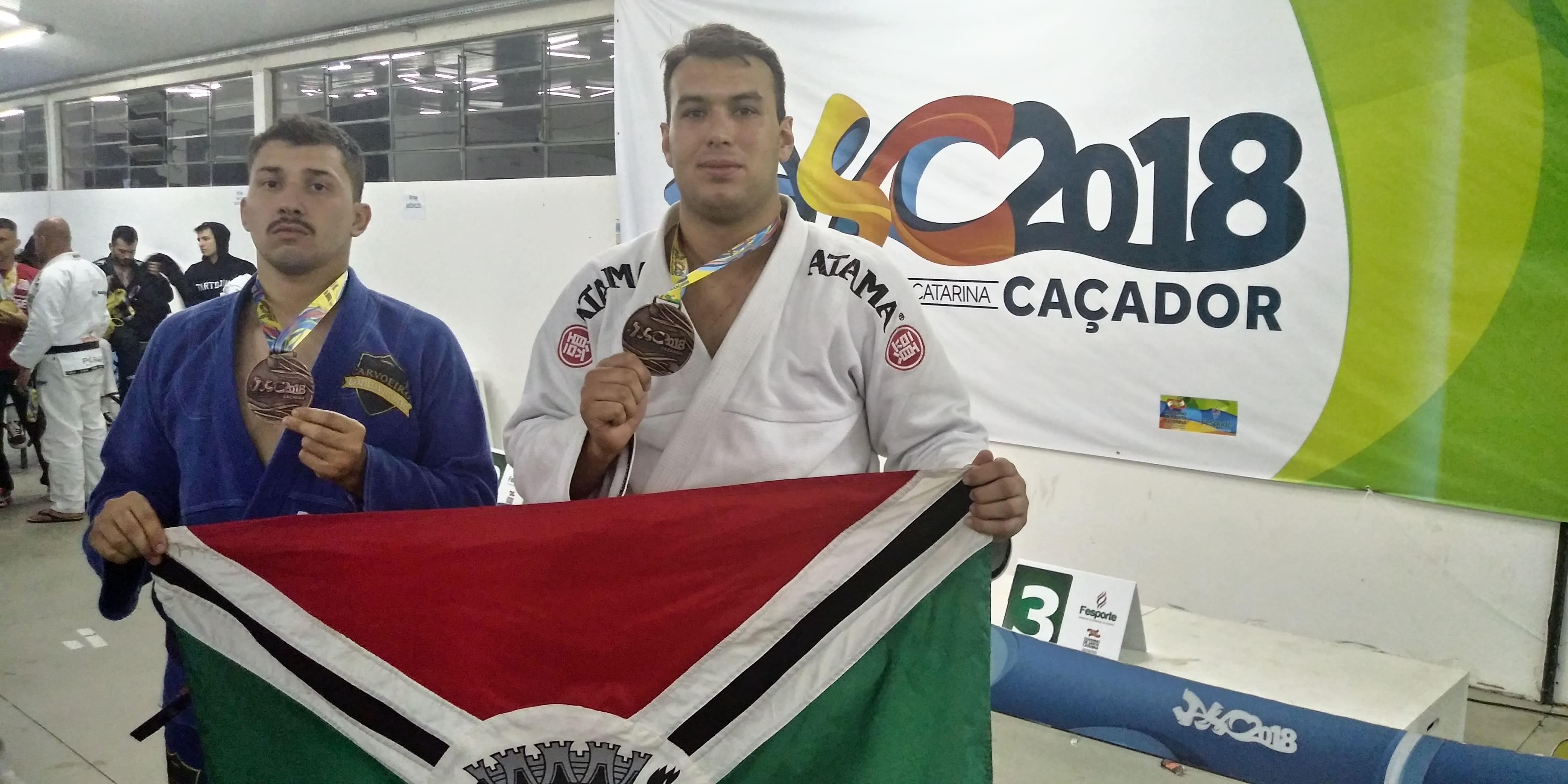 Jasc: Jiu-jitsu de Criciúma conquista duas medalhas de bronze