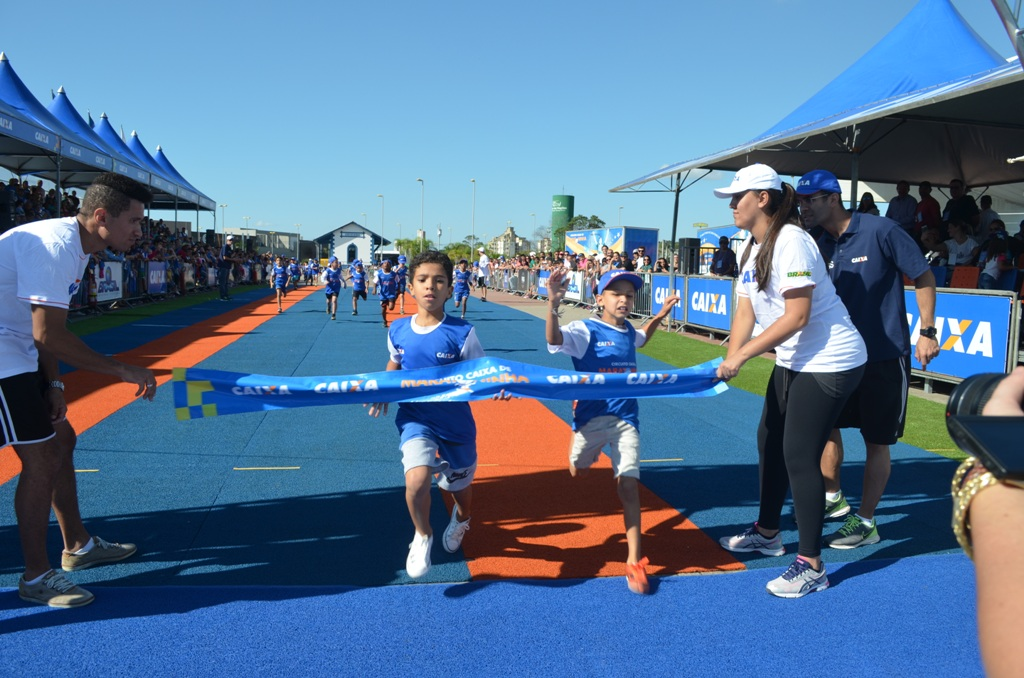 Estudantes se preparam para 6ª edição do Circuito Caixa de Maratoninha