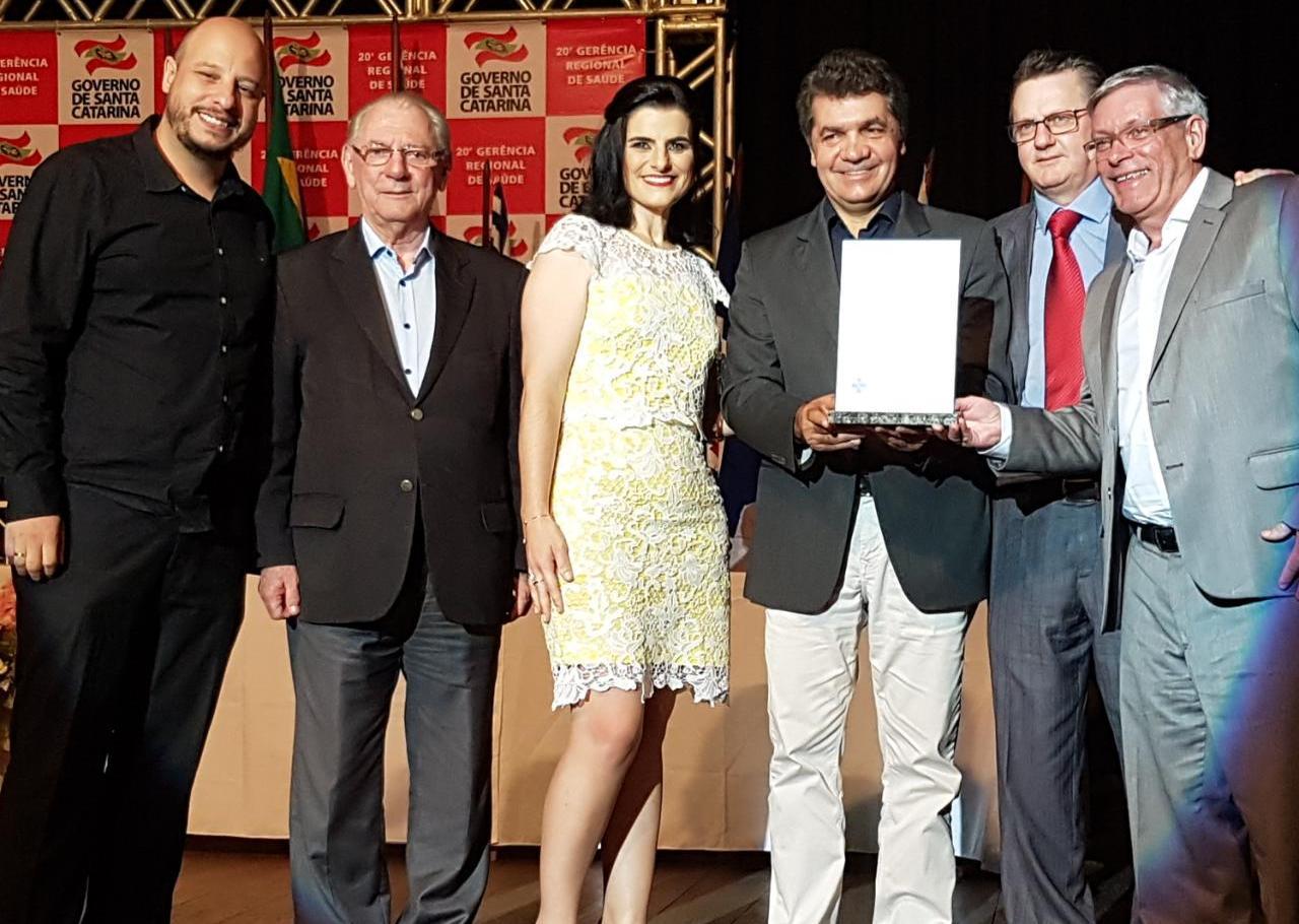 Saúde de Criciúma é premiada no Mérito Regional de Saúde