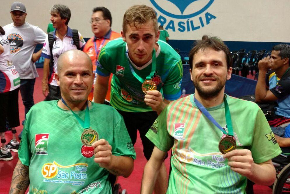 Criciúma estreia na Copa Brasil de Tênis de Mesa