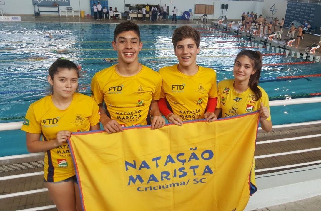 Nadadores criciumenses faturam medalhas no Troféu Eduardo Fischer
