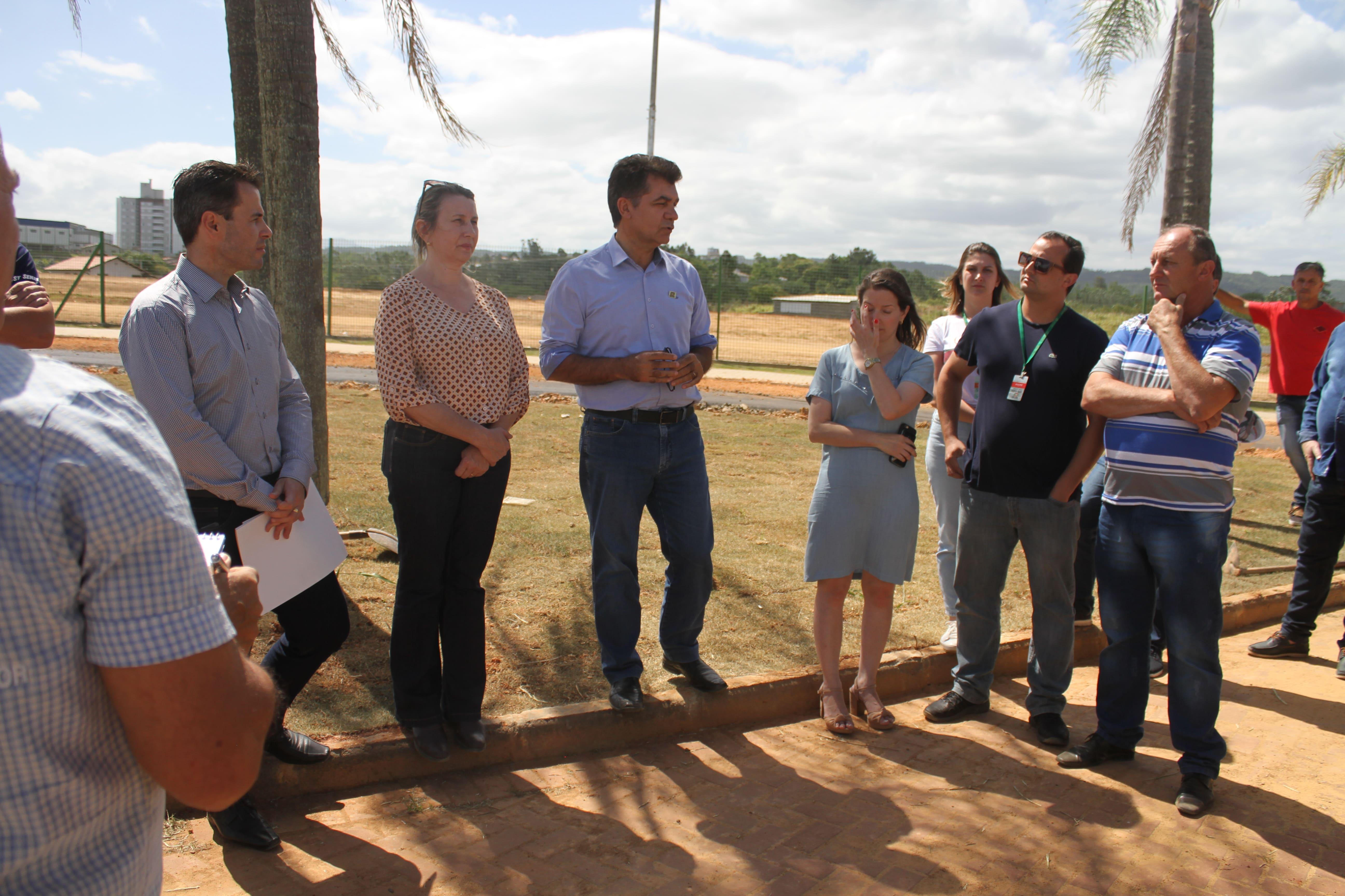 Prefeitura Municipal de Criciúma - Parque dos Imigrantes: um mês para a inauguração