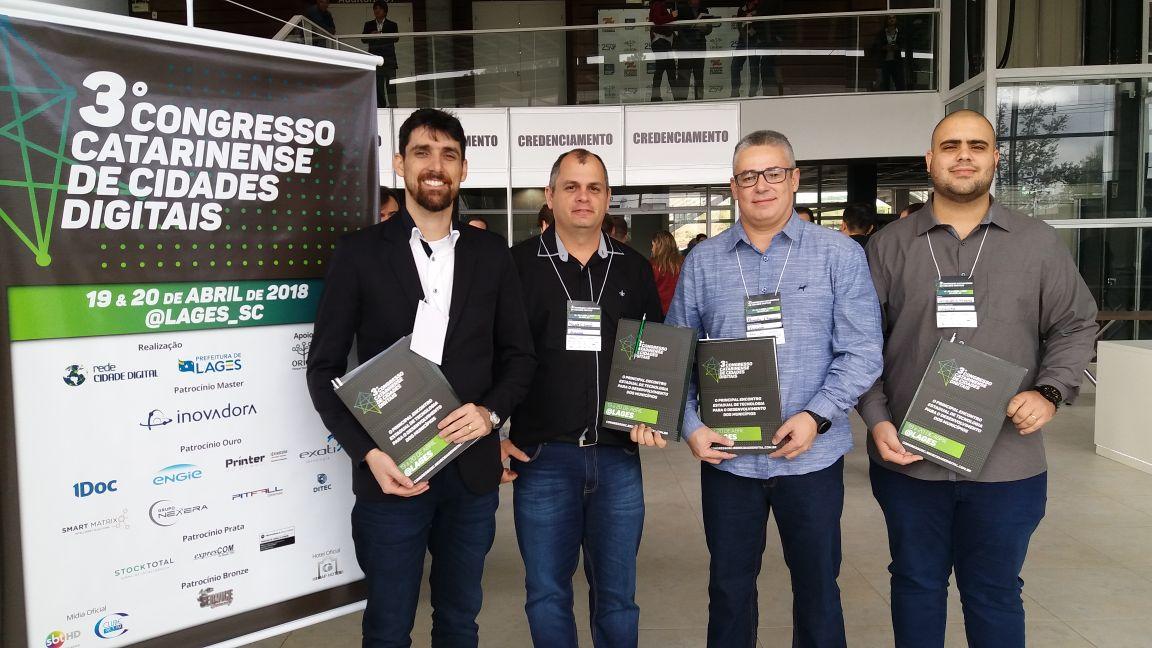 Prefeitura Municipal de Criciúma - Diretoria de TI é reconhecida por projeto inovador na Saúde do município
