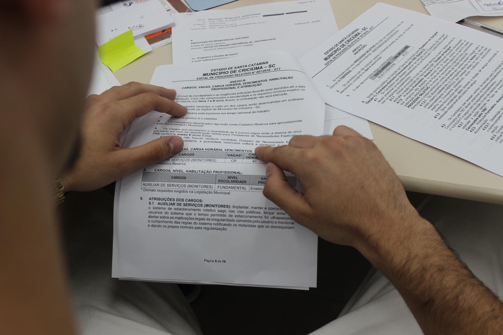 Prefeitura Municipal de Criciúma - DTT abre inscrições para processo seletivo