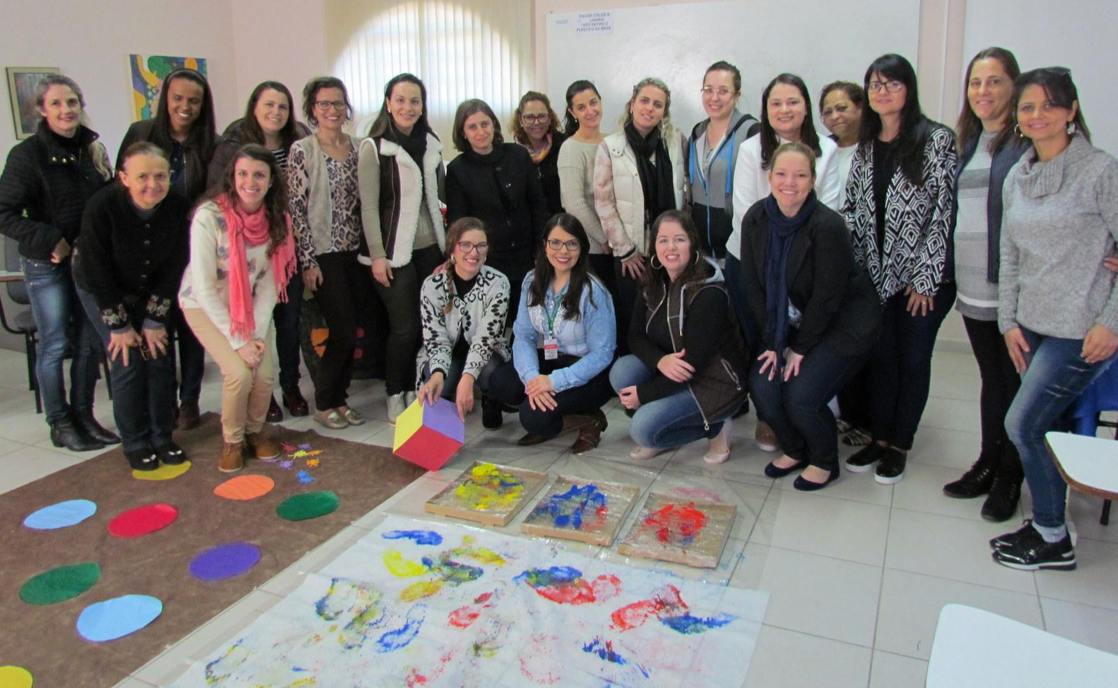 Professores de Artes são qualificados na Casa do Professor Paulo Freire