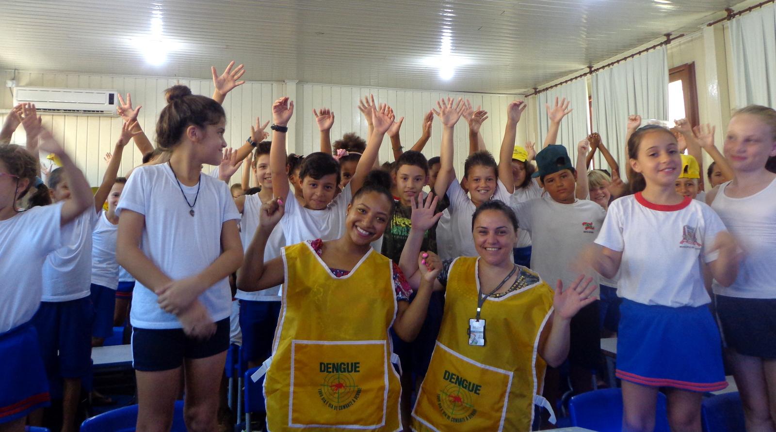 Dengue é tema de palestra em escolas da rede municipal de Criciúma