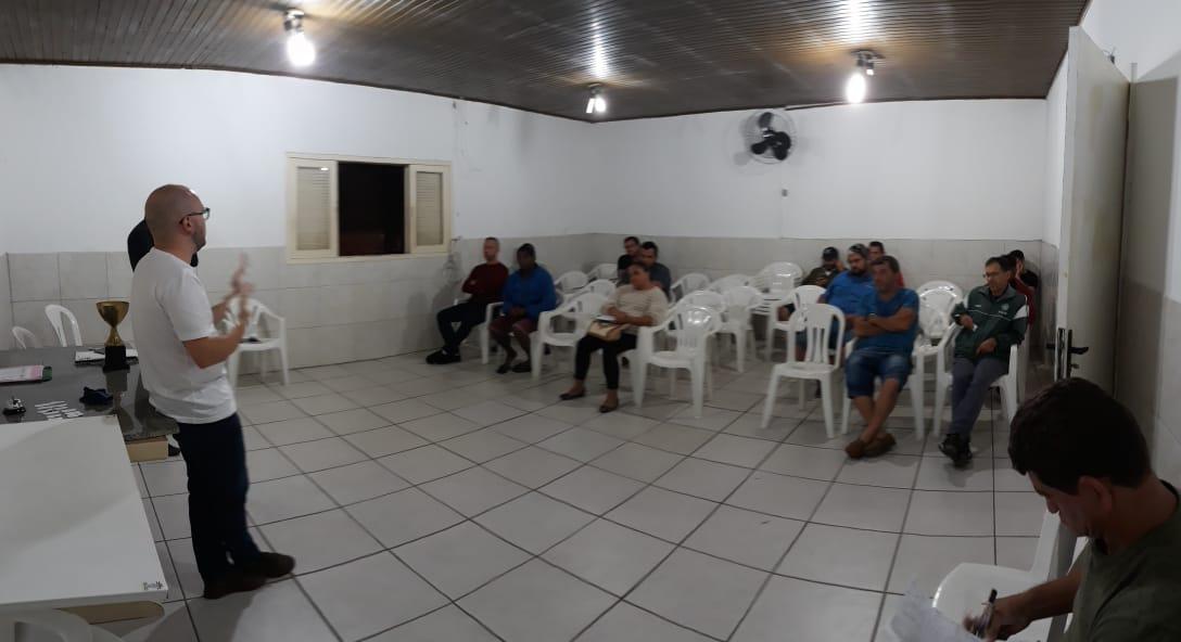 Reunião garante Municipal Amador em Criciúma