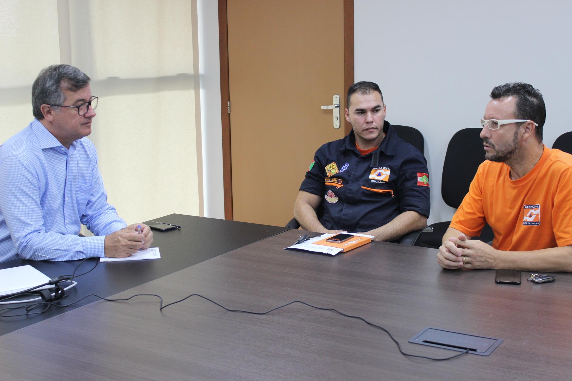 Prefeitura Municipal de Criciúma - Torre de comunicação integrada entre Corpo de Bombeiros Militar e Defesa Civil será inaugurada em fevereiro