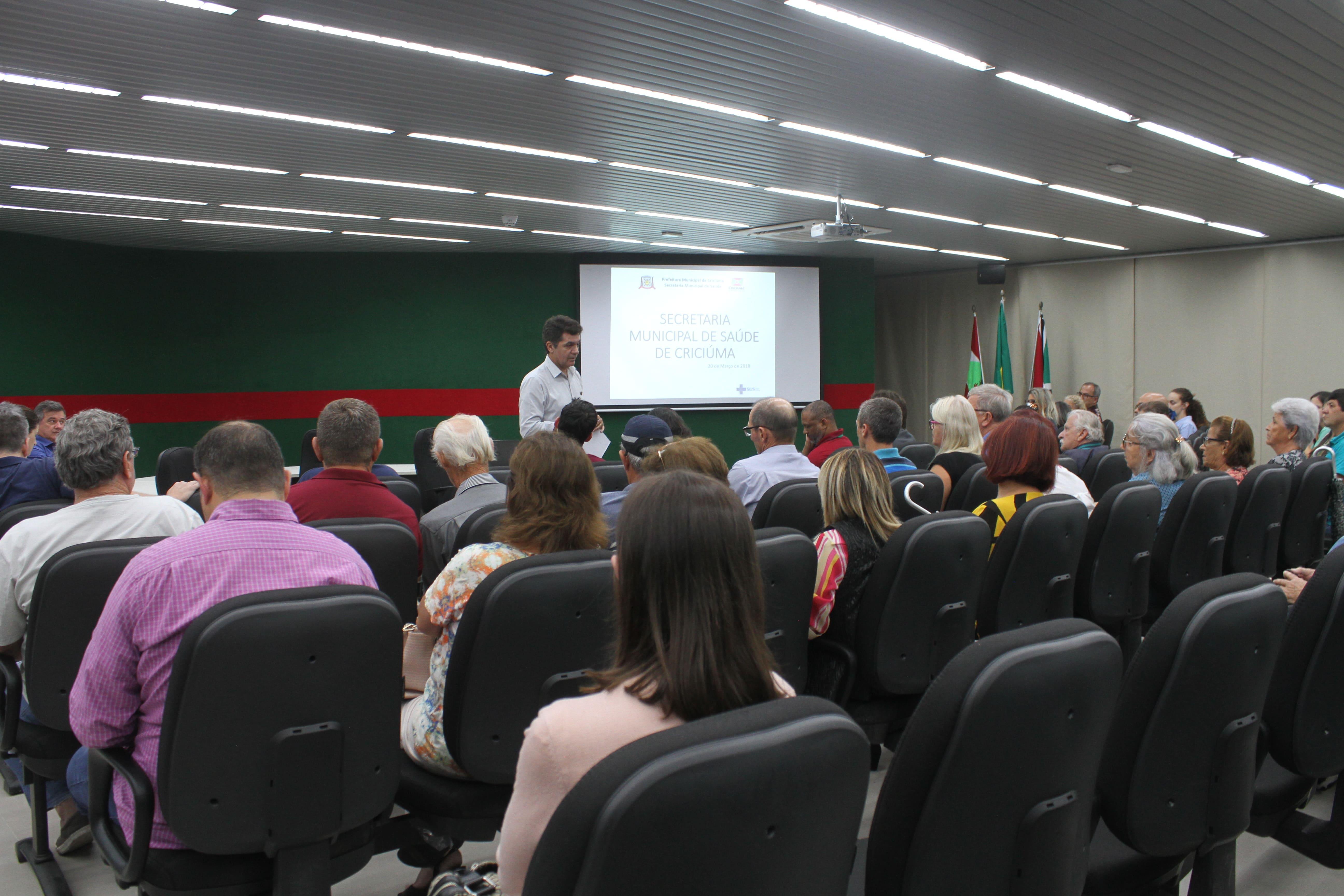 Prefeitura Municipal de Criciúma - Administração Municipal encerra cronograma de encontros abrangendo 50 unidades de saúde
