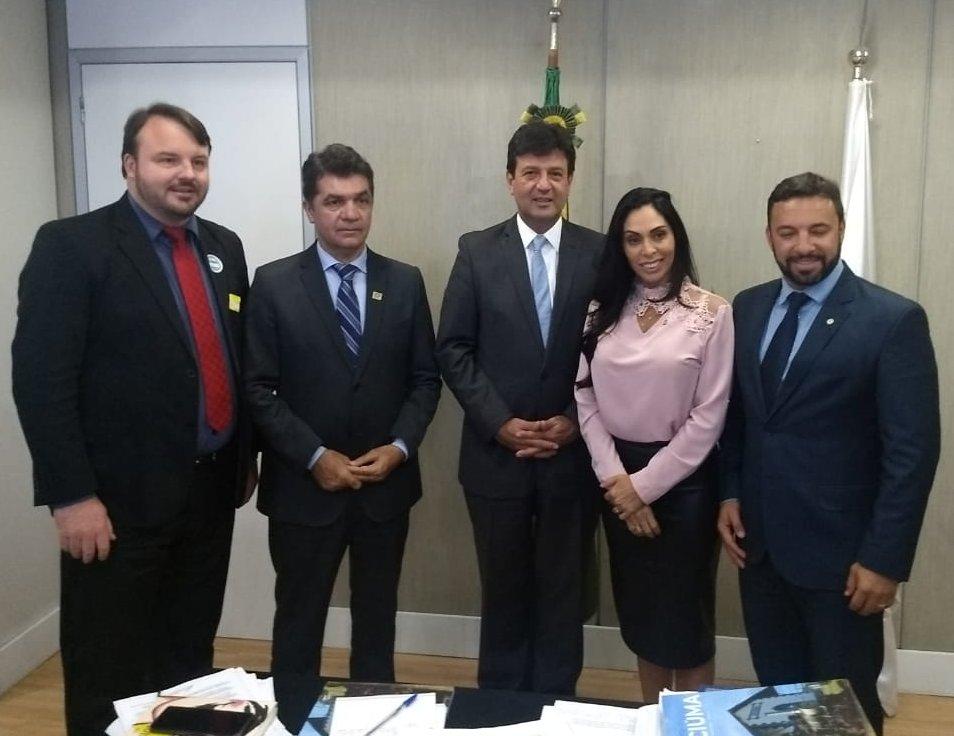 Salvaro retorna de Brasília com notícias positivas para implantação da UPA do Rio Maina