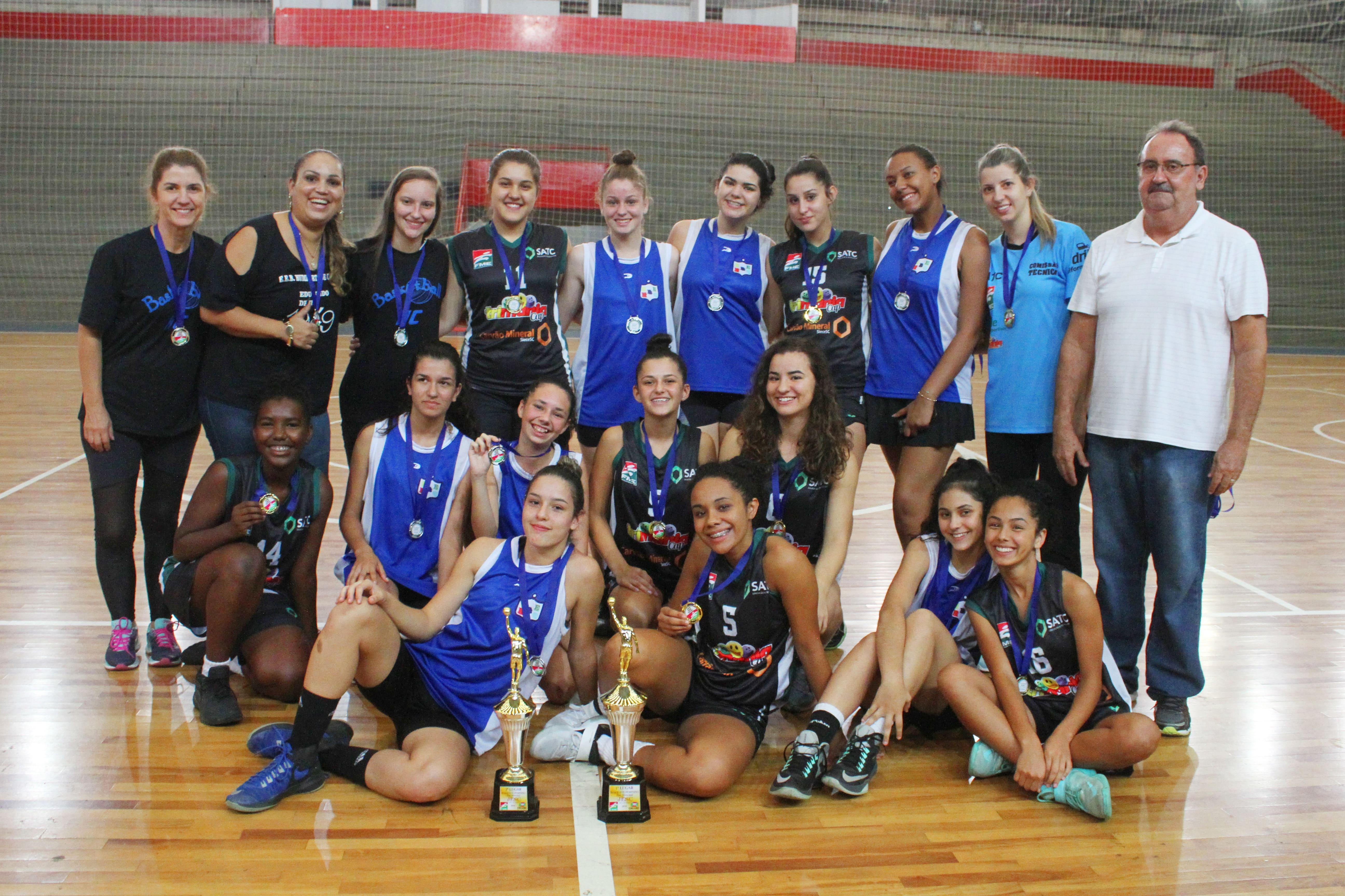 Prefeitura Municipal de Criciúma - Jesc: Satc é campeã no basquete feminino
