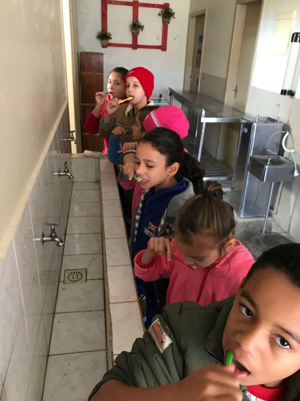 Prefeitura Municipal de Criciúma - I Semana de Saúde Bucal ocorre nas escolas municipais em Criciúma