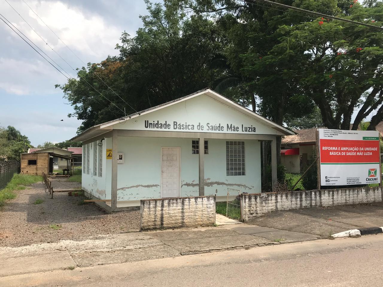 Prefeitura Municipal de Criciúma - Prefeitura inicia obras de reforma e ampliação da UBS Mãe Luzia