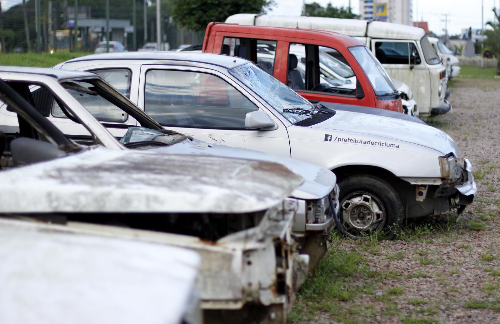 Leilão de automóveis da Prefeitura ocorre no dia 27 de abril