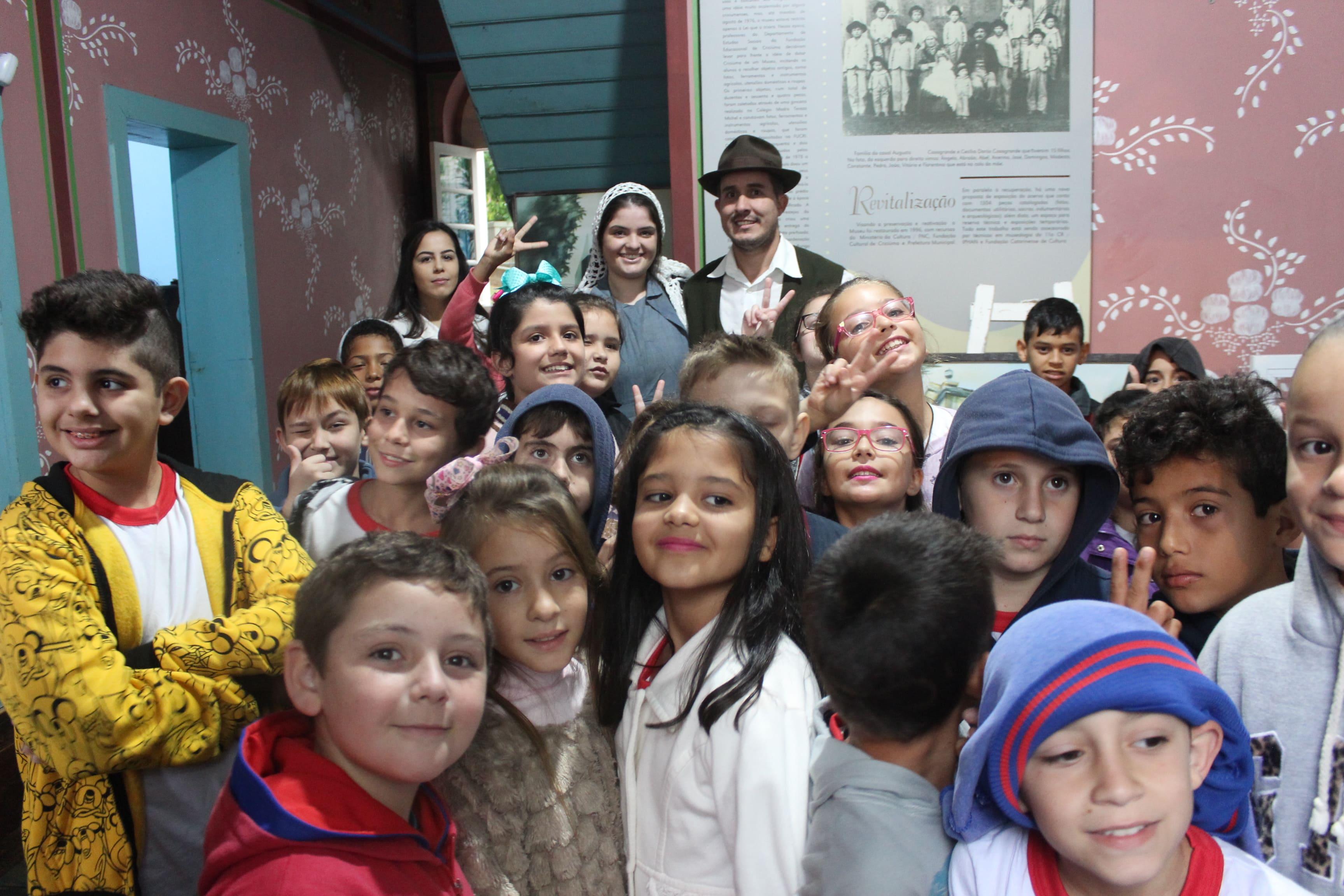Semana Nacional dos Museus encerra com encenação no Augusto Casagrande