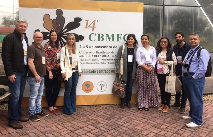 Secretaria Municipal de Saúde participa do 14º CBMFC