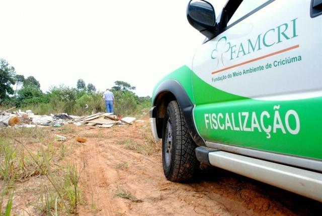 Famcri lança concurso Super Fiscal do meio ambiente