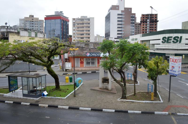 Praça do Imigrante e Monumento a Pedra Mó