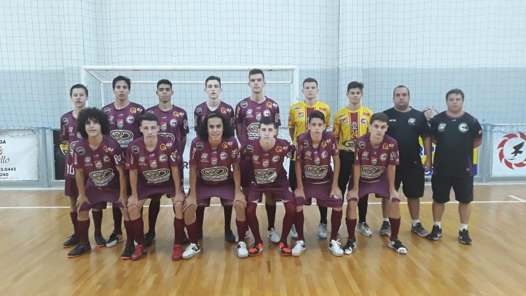 Criciúma vence em estreia no Estadual de Futsal Sub-17