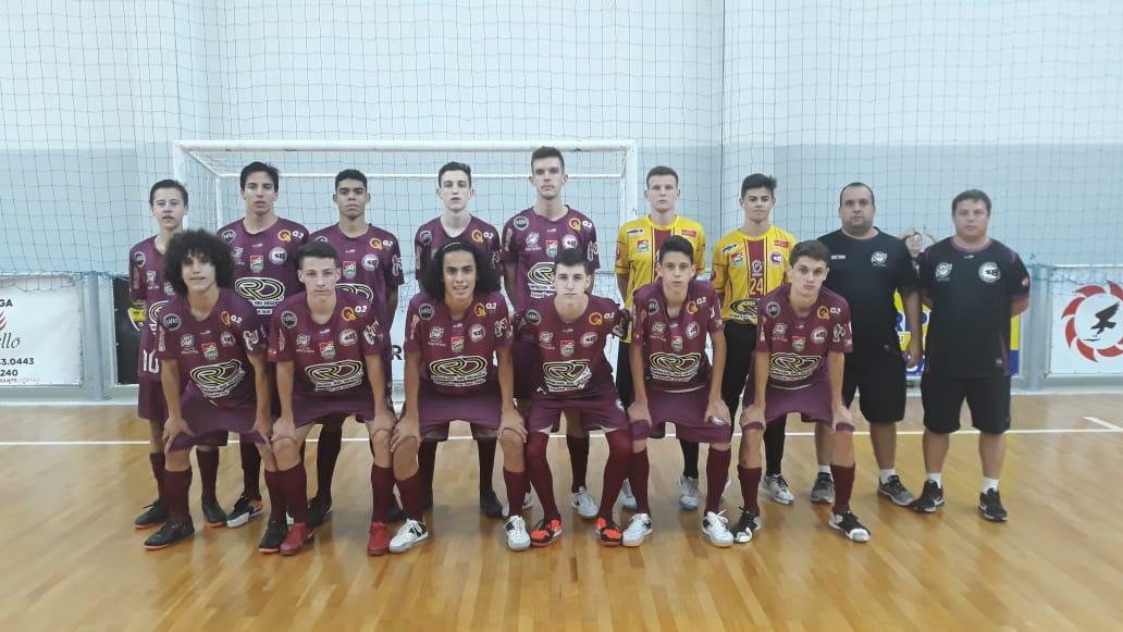 Criciúma entra em quadra pela segunda rodada do Estadual Sub-17 de Futsal