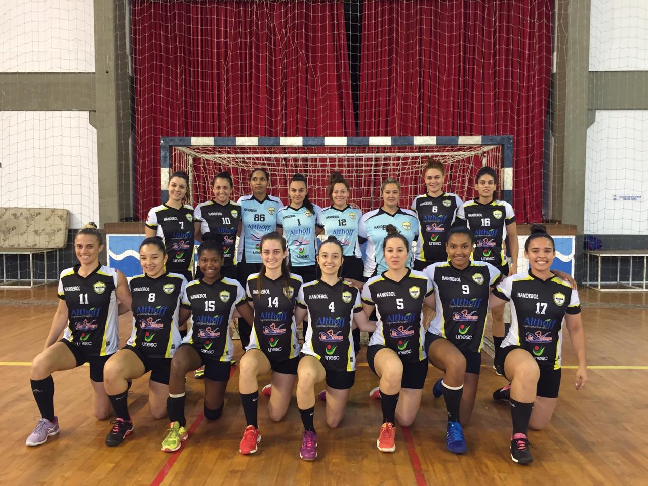 Handebol feminino de Criciúma é vice-campeão do Sul-Brasileiro Adulto