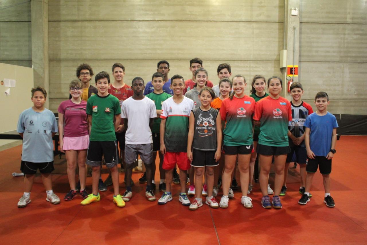 Equipe de tênis de mesa de Criciúma disputa estadual em São José